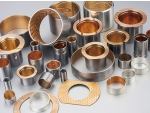 Bimetallic Bearing with Steel Shell and Sintered Bronze Lining